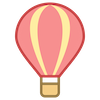 Hot Air Balloon Flight Logo