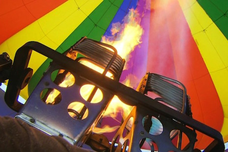 Hot Air Balloon Ride Grantham Stoke Rochford Hall